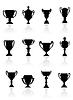 Комплект спортивных трофеев