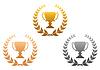 Золотые, серебряные и бронзовые награды