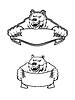 Дикий медведь Кадьяк