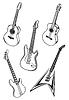 Музыка гитары | Векторный клипарт