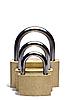 ID 3015315 | Три навесных замка разного размера | Фото большого размера | CLIPARTO