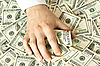 ID 3015351 | Greedy ręka chwyta pieniądze | Foto stockowe wysokiej rozdzielczości | KLIPARTO