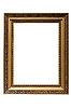 Leerer vergoldeter Holzrahmen | Stock Foto