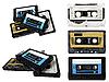 Audio-Kassetten | Stock Foto