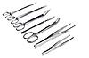 ID 3015622 | Narzędzia chirurgiczne - skalpel, kleszcze, zaciski, nożyczki | Foto stockowe wysokiej rozdzielczości | KLIPARTO