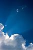 Weiße Wolken im Himmel | Stock Foto