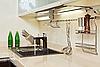ID 3016757 | Teil des modernen Küche-Interieurs mit Waschbecken | Foto mit hoher Auflösung | CLIPARTO
