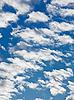 ID 3016849 | 푸른 하늘에 양털 구름 | 높은 해상도 사진 | CLIPARTO