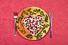 ID 3016916 | 쇠고기 혀 발렌타인 샐러드 | 높은 해상도 사진 | CLIPARTO