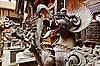 ID 3016982 | 可怕的怪兽雕像,加德满都,尼泊尔 | 高分辨率照片 | CLIPARTO