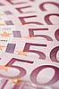 ID 3017147 | 500 Banknoty euro wachlarza, makro tekstury | Foto stockowe wysokiej rozdzielczości | KLIPARTO