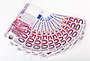 ID 3017148 | 500 Banknoty euro podsycana | Foto stockowe wysokiej rozdzielczości | KLIPARTO