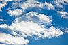 ID 3024446 | Schäfchenwolken am blauen Himmel-Hintergrund | Foto mit hoher Auflösung | CLIPARTO