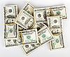 ID 3024532 | Wiele pakiet 100 dolarów amerykańskich banknotów | Foto stockowe wysokiej rozdzielczości | KLIPARTO
