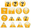 ID 3017379 | Вопросительные знаки | Иллюстрация большого размера | CLIPARTO