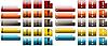ID 3017860 | Kolorowe ikony wykrzyknika | Stockowa ilustracja wysokiej rozdzielczości | KLIPARTO