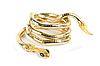ID 3019375 | Goldenes Armband als Schlange | Foto mit hoher Auflösung | CLIPARTO
