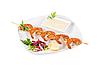 ID 3019444 | Kebab von Garnelen | Foto mit hoher Auflösung | CLIPARTO