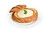 Zupa serowa | Stock Foto