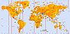 ID 3019676 | Weltkarte mit Zeitzonen | Illustration mit hoher Auflösung | CLIPARTO