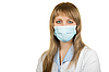 ID 3019768 | Arztin mit Schutzmaske | Foto mit hoher Auflösung | CLIPARTO