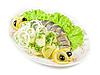 ID 3020091 | Śledź z ziemniakami i warzywami | Foto stockowe wysokiej rozdzielczości | KLIPARTO