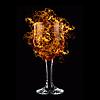 ID 3021254 | Czerwone wino w pożaru | Foto stockowe wysokiej rozdzielczości | KLIPARTO