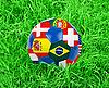 ID 3021468 | Fußball im Gras | Foto mit hoher Auflösung | CLIPARTO
