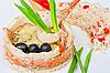 ID 3027054 | Ryba z ryżem i warzywami | Foto stockowe wysokiej rozdzielczości | KLIPARTO