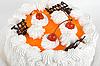 ID 3027157 | Cream cherry cake | Foto stockowe wysokiej rozdzielczości | KLIPARTO