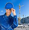 ID 3027265 | Девушка-строитель | Фото большого размера | CLIPARTO