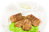 Beef tongue bliska | Stock Foto