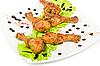 Podudzie kurczaka | Stock Foto