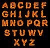 ID 3027692 | Zestaw alfabetu Pożarnej | Foto stockowe wysokiej rozdzielczości | KLIPARTO