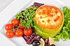 ID 3028338 | Łosoś z omlet i serem | Foto stockowe wysokiej rozdzielczości | KLIPARTO