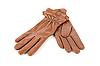 ID 3028526 | Brązowe skórzane rękawice kobiet | Foto stockowe wysokiej rozdzielczości | KLIPARTO