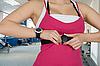 ID 3028583 | Frau mit Uhr für Puls-Überprüfung | Foto mit hoher Auflösung | CLIPARTO
