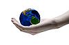 ID 3029467 | Kümmern sich um die Welt | Foto mit hoher Auflösung | CLIPARTO