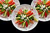 ID 3029491 | Drei Teller mit Salat | Foto mit hoher Auflösung | CLIPARTO