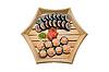 ID 3029500 | Sushi auf Holzplatte | Foto mit hoher Auflösung | CLIPARTO