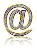 ID 3029717 | 회색 전자 메일 기호 | 높은 해상도 그림 | CLIPARTO