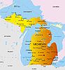 ID 3029791 | Michigan | Stockowa ilustracja wysokiej rozdzielczości | KLIPARTO