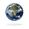 ID 3029808 | Ameryka Północna z przestrzeni | Foto stockowe wysokiej rozdzielczości | KLIPARTO