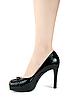 ID 3030281 | Nogi kobieta w czarnym bucie | Foto stockowe wysokiej rozdzielczości | KLIPARTO