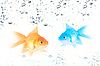 ID 3030362 | Gold and blue fishes | Foto stockowe wysokiej rozdzielczości | KLIPARTO