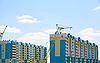 Bau von Gebäuden | Stock Photo