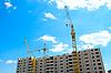 Aufbau eines Gebäudes | Stock Photo
