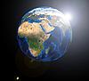 ID 3030522 | Afrika auf dem Erde-Globus | Foto mit hoher Auflösung | CLIPARTO