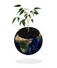 ID 3030540 | Planet Erde mit Pflanze | Foto mit hoher Auflösung | CLIPARTO