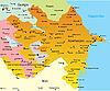 ID 3030595 | Карта Азербайджана | Иллюстрация большого размера | CLIPARTO